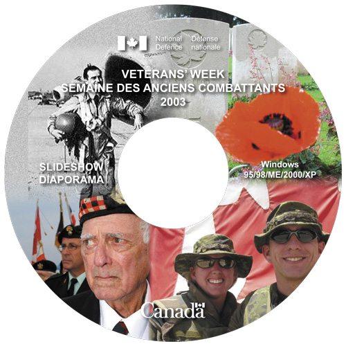 Veterans Week 2003 CD label